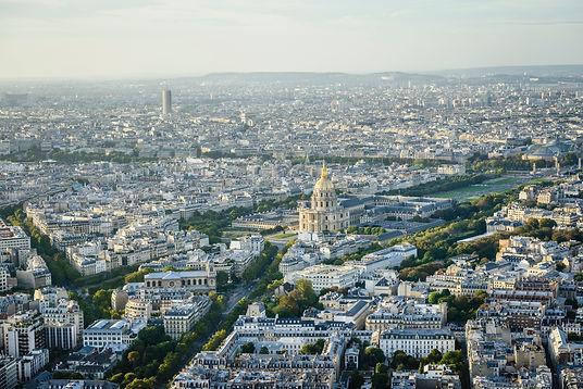 Vue aérienne de Paris - Les Menuiseries Rosemar