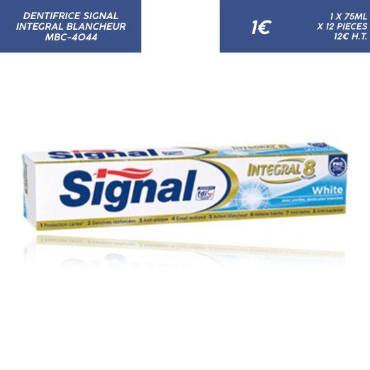 Signal Intégral Blancheur