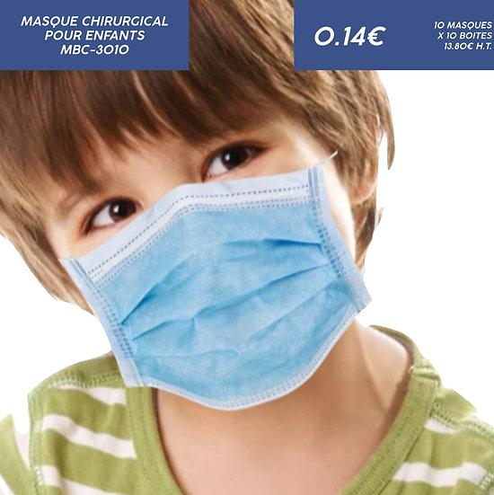 Masque Chirurgical pour Enfant
