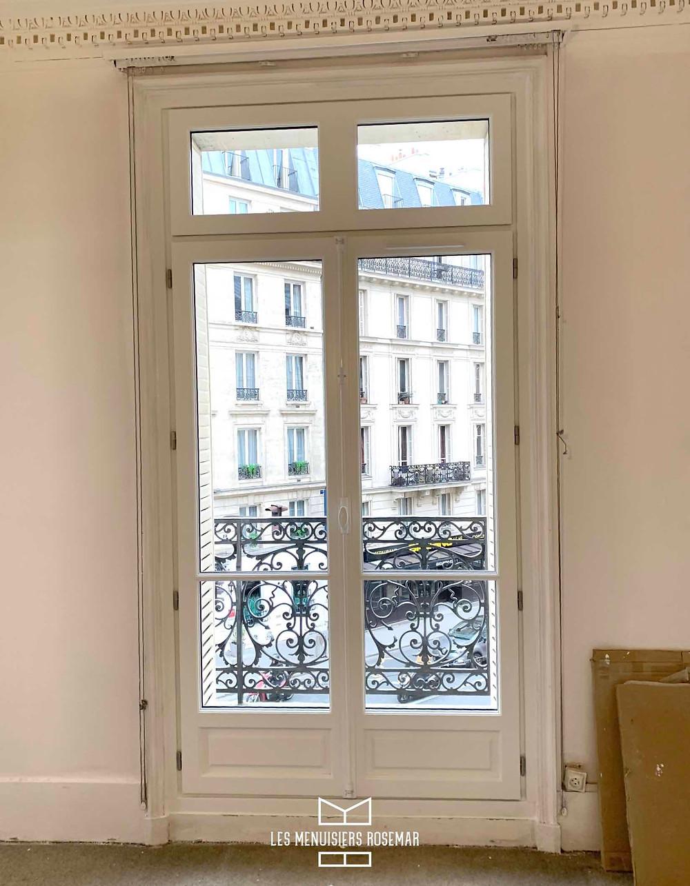 Porte Fenêtre après travaux.