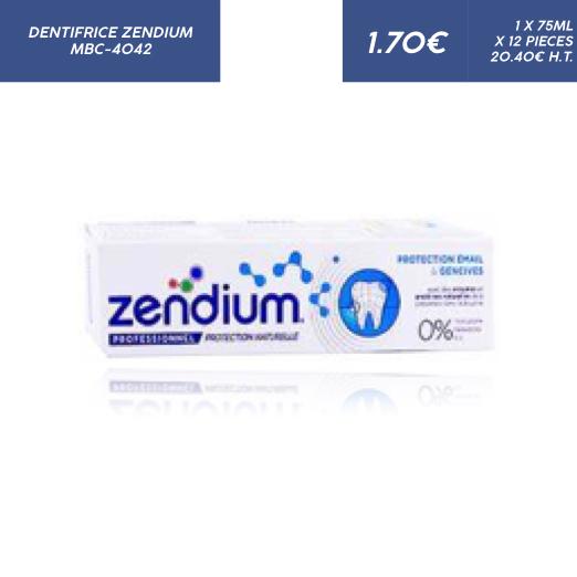 Zendium Protection Email et Gencives