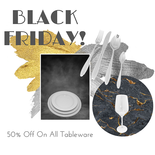 Black Friday Deal Budget Tableware Set