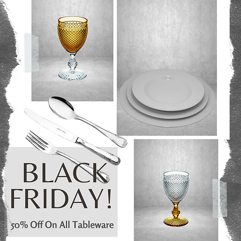 Black Friday Offer Premium Tableware Setting Sale