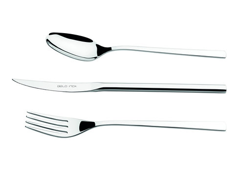 Nomo 24 Piece Flatware Cutlery Silverware Set Belo Inox