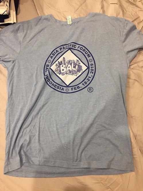 APF Bali 2019 Meeting T-Shirt - Light Blue