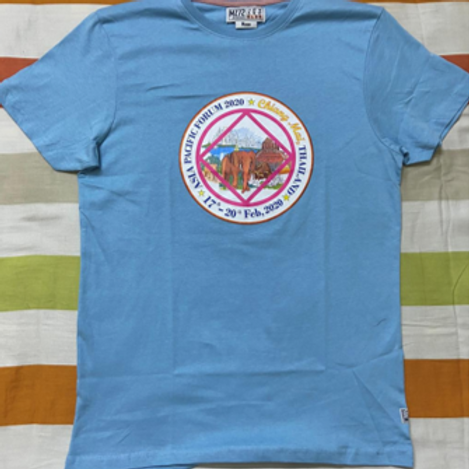 APF Chiang Mai 2020 T-shirt -Light Blue