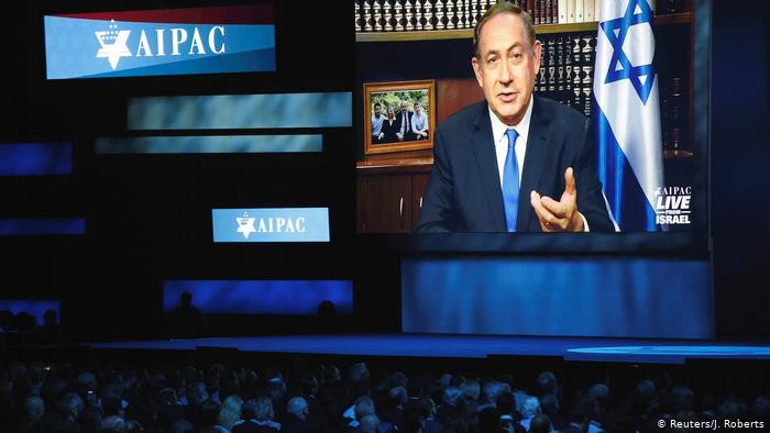 At AIPAC, hardly a mention of a future Palestinian state