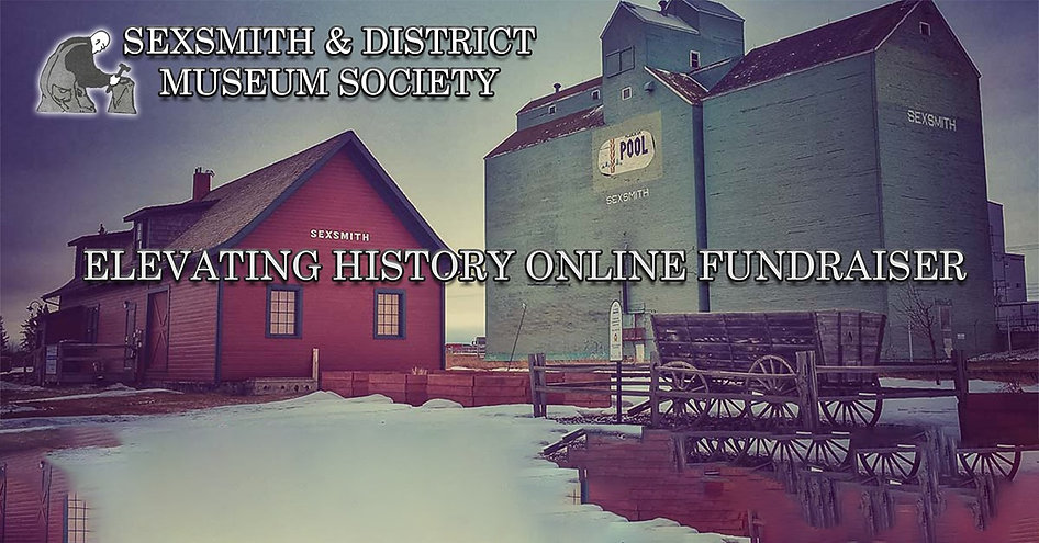 Sexsmith and Districy Museum Event Logo.