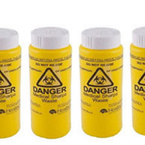 Single 150ml sharps container