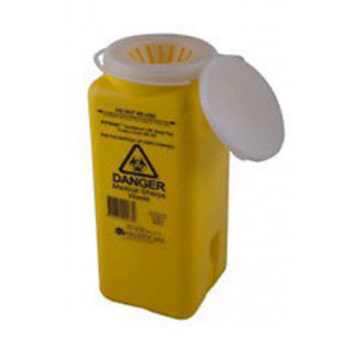 1.8L Sharps container