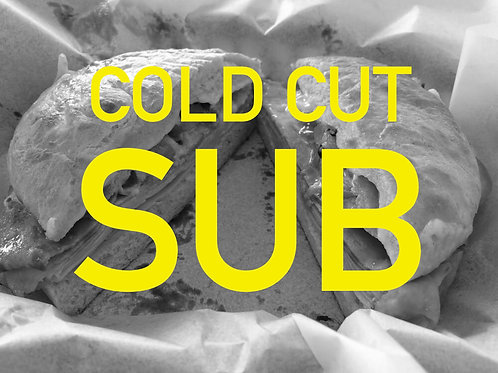 Cold Cut Sub