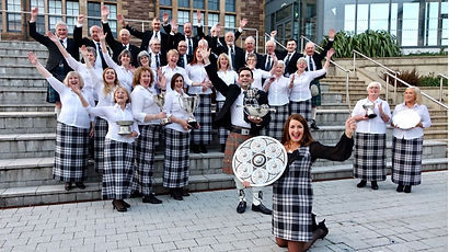 Dingwall Gaelic choir at Blas Festival