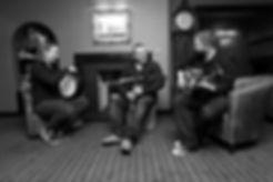 Angus Nicolson Trio playing at Blas Festival