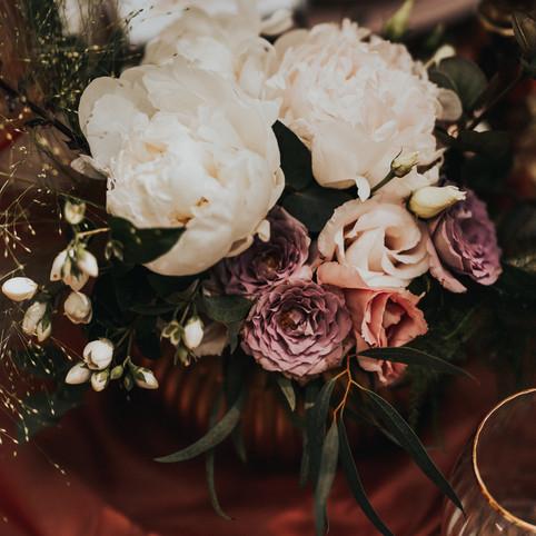 fleur de t table flowers