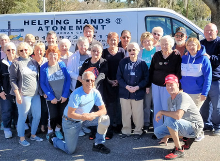 Helping Hands Food Pantry Blessed with a new van