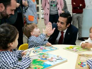 Visita del Conselleiro de Politica Social, Jose Manuel Rey Varela a una futura obra nuestra