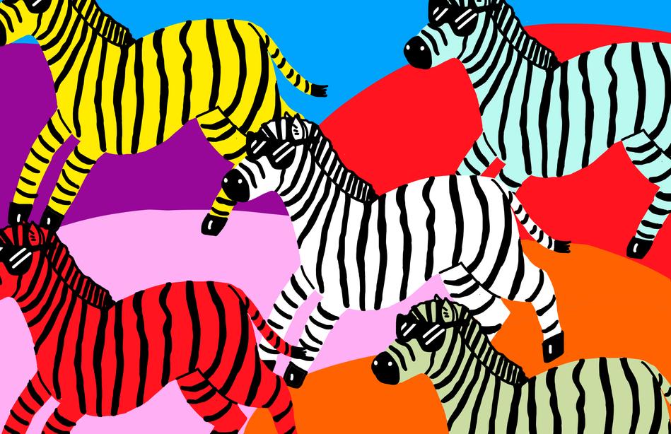 Zebras (Front)