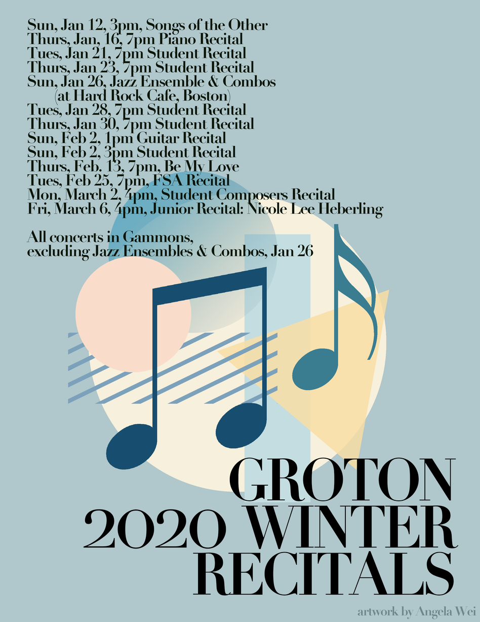2020 Winter Recitals