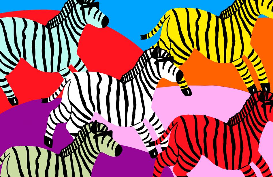 Zebras (Back)