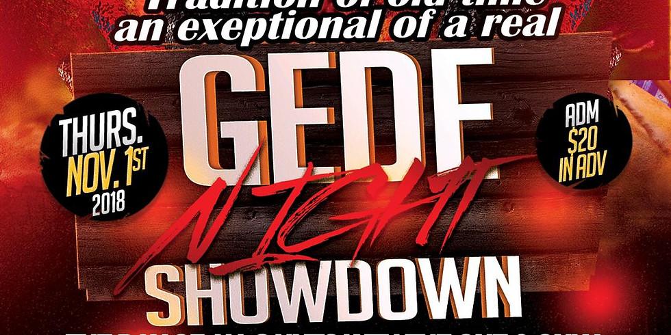 Gede Night Showdown at Brasserie Creole