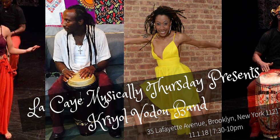 La Caye Musically Thursday Gede Special with Kriyol Vodou Band