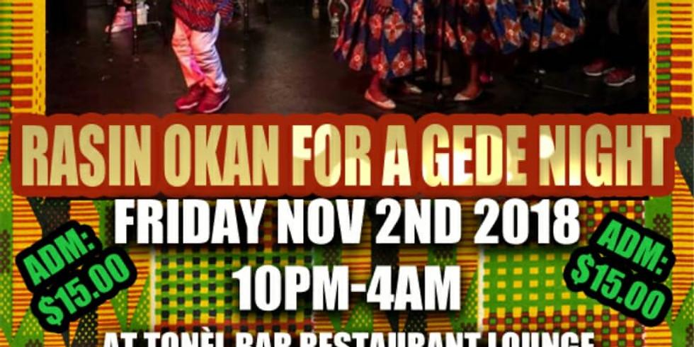 Gede Night: Rasin Okan at Tonel Lounge