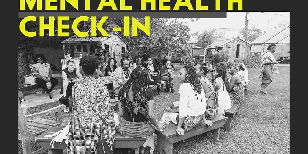 Community Mental Health Check-In w/ Marie Antoine