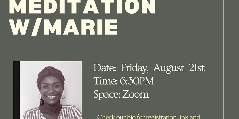 Silent Mediation w/ Marie