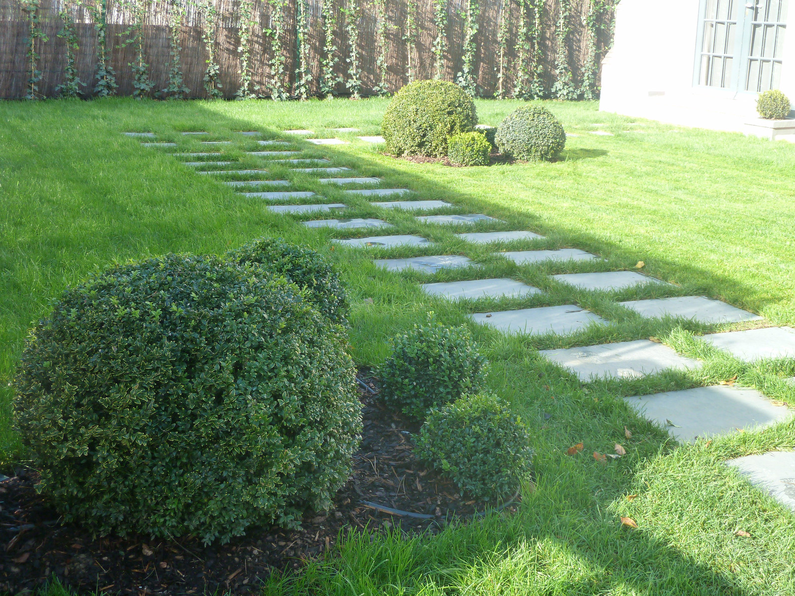 So Gardens Cheminement Allee Jardin Pavage Dalles