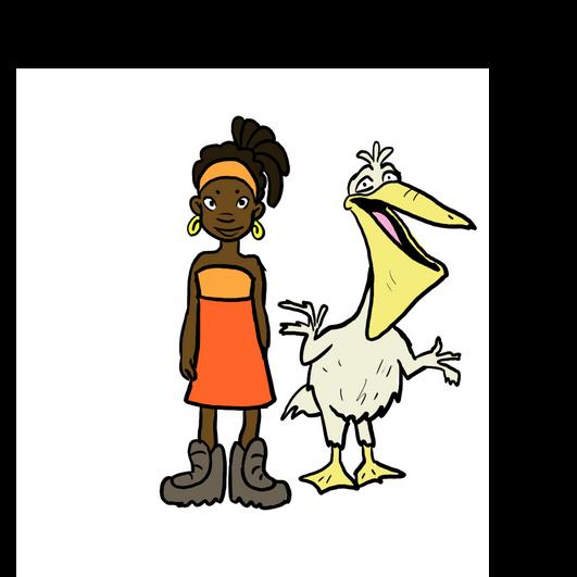 Waasi and her side kick Dirtybird