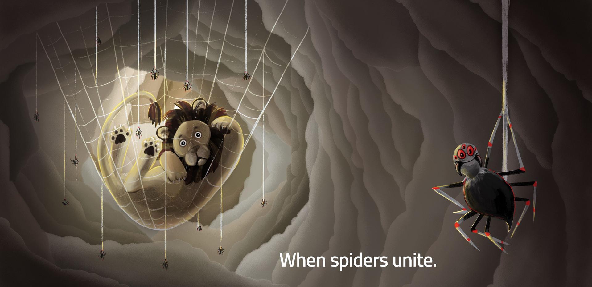 When Spiders Unite