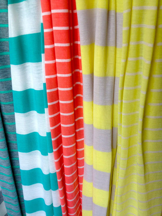 Neon Varsity Scarves from Oh Suzanne