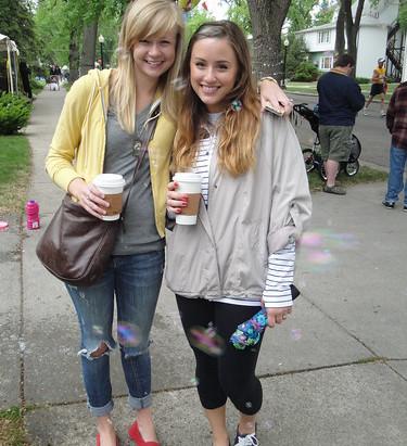 Street Style: Danae and Nikki
