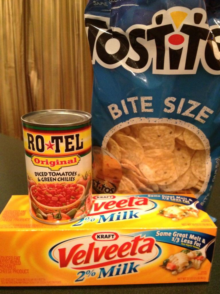 Rotel and Velveeta Cheese Dip