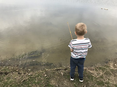 Free Family Fun At The Fishing Pond