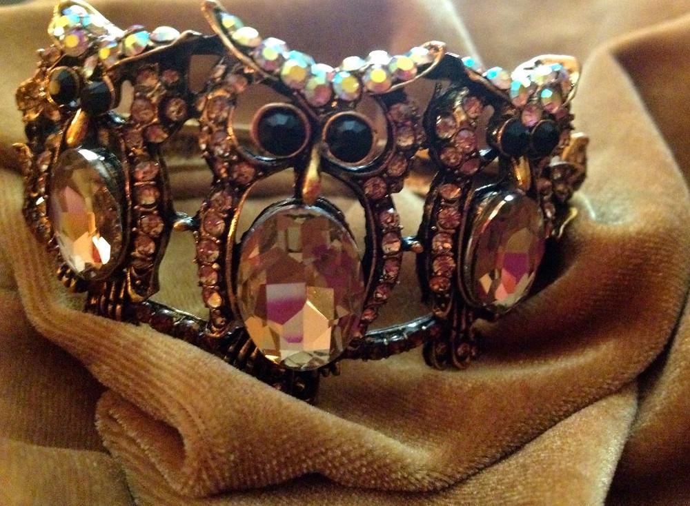 Owl Bracelet from My Best Friend's Closet