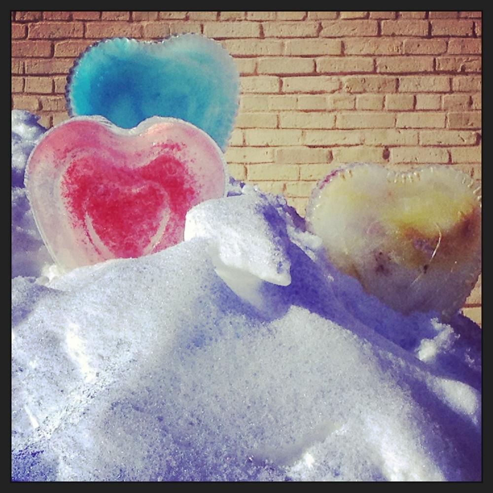 Ice Sculptures at Plains Art Museum