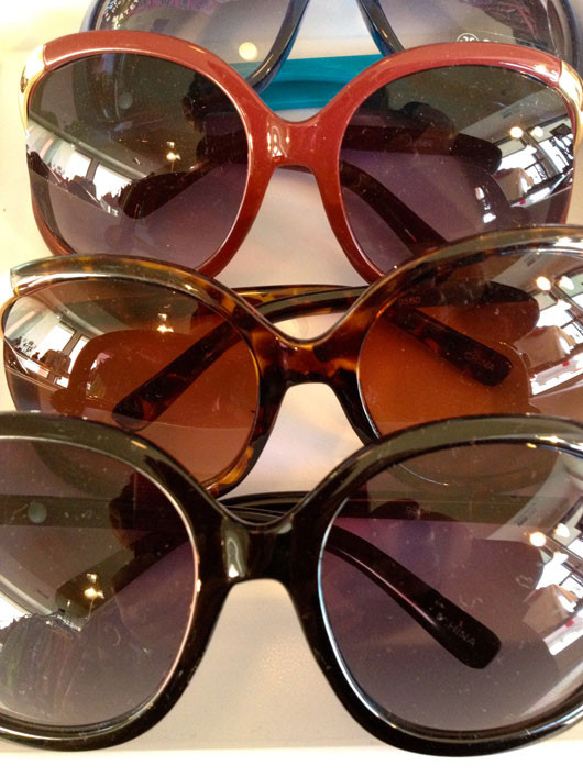 Oversized Sunglasses from Oh Suzanne