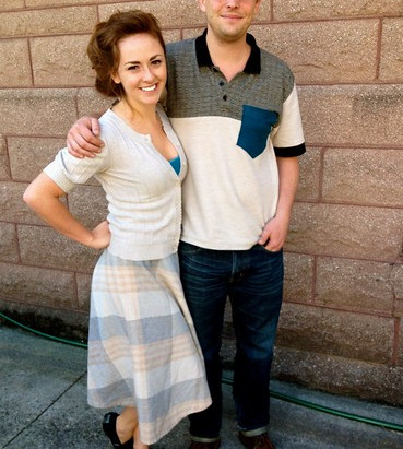 Street Style: Ashley and Blake