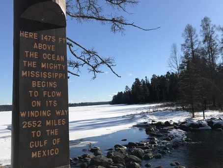 Balancing Over The Mississippi: Hiking Itasca State Park In Winter