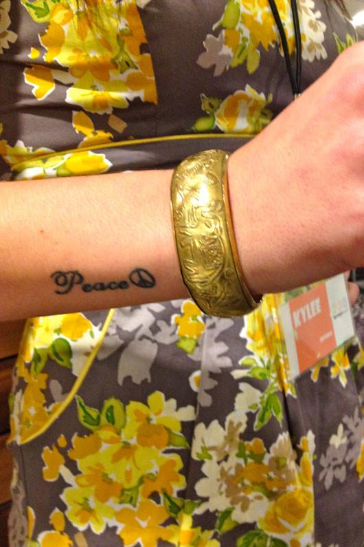 Fargo Street Style gold bracelet