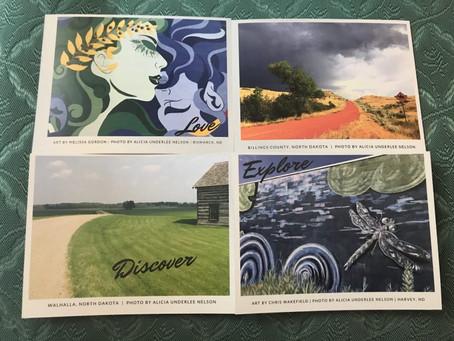 New North Dakota Postcards (And Beer Books) For Christmas