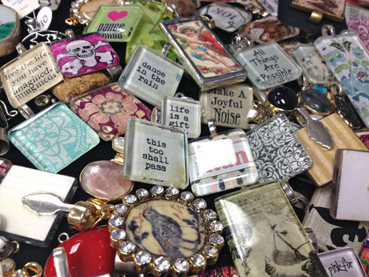 Pendants from Oh Suzanne