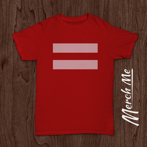 Red Equality Shirt