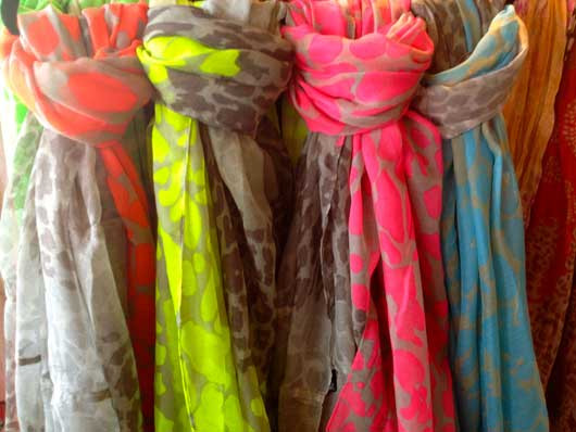 Neon Infinity Scarves from Oh Suzanne