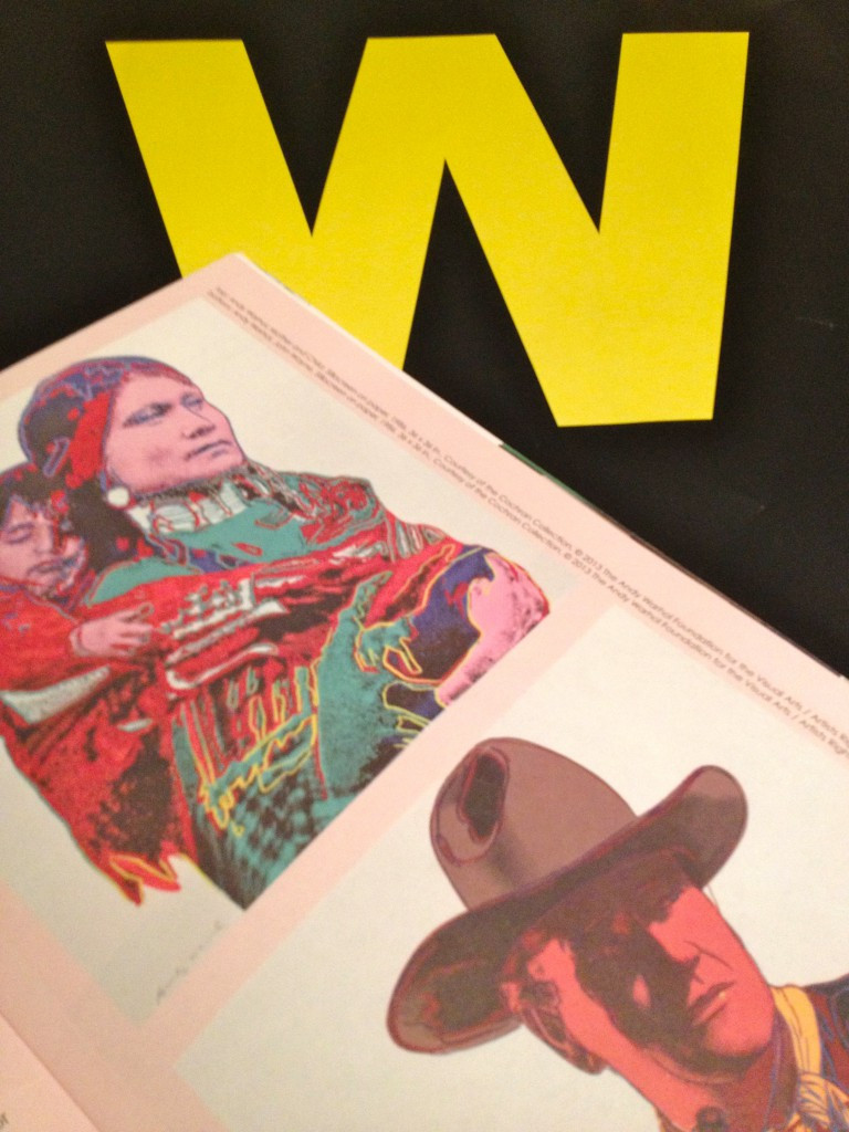 Warhol's Cowboys and Indians