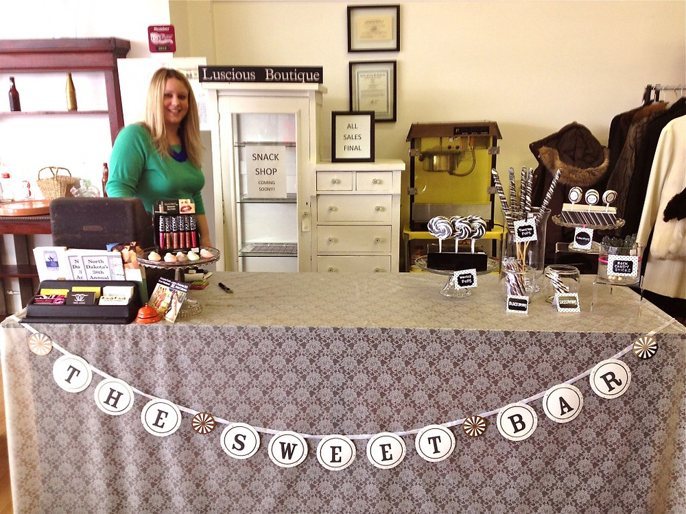 Mary Kippen at Luscious Boutique