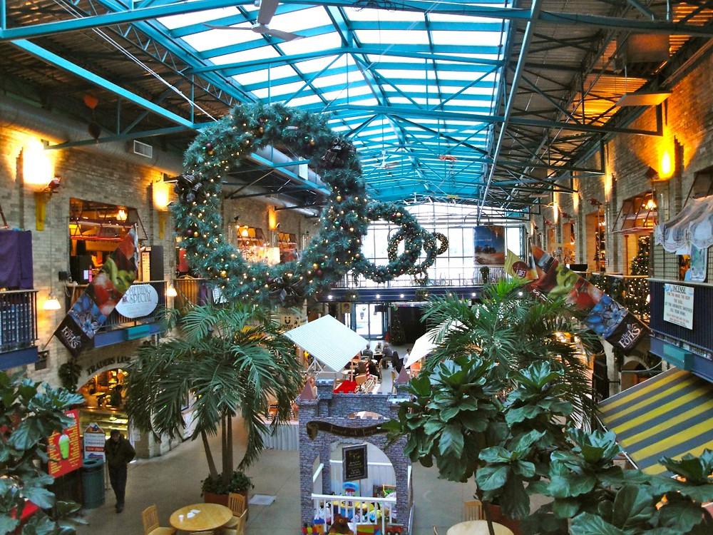 Inside the Forks Shopping Center