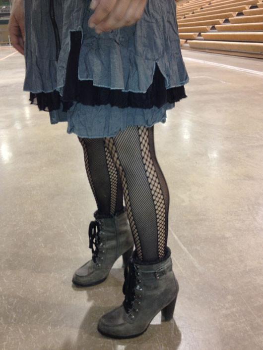 Bemidji Street Style tiered skirt