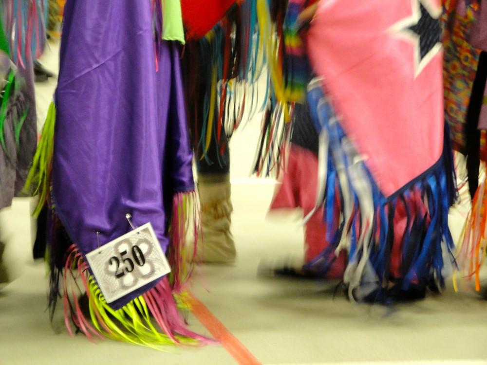 Fancy Shawl Dancers